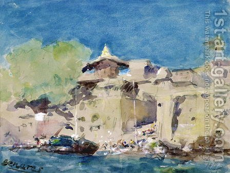 Benares by Hercules Brabazon Brabazon - Reproduction Oil Painting