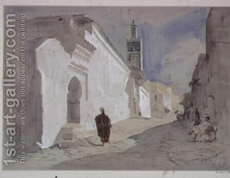 Tangiers (3) by Hercules Brabazon Brabazon - Reproduction Oil Painting