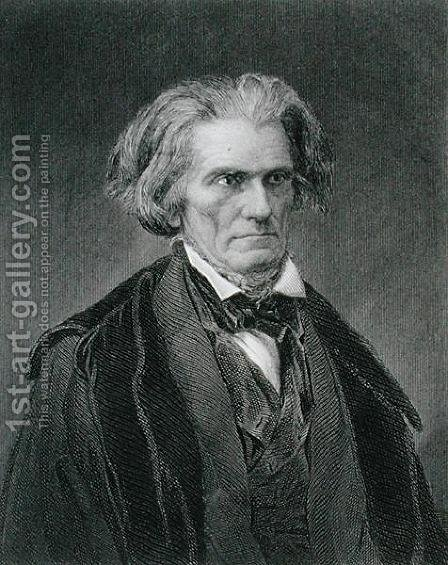 John Caldwell Calhoun by Mathew Brady - Reproduction Oil Painting