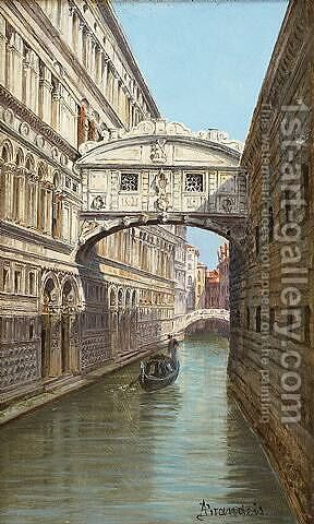 Bridge of Sighs by Antonietta Brandeis - Reproduction Oil Painting