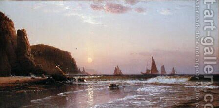 Morning at Grand Manan, 1878 by Alfred Thompson Bricher - Reproduction Oil Painting