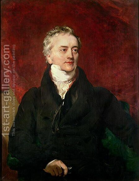 Sir Thomas Young MD, FRS by Henry Perronet Briggs - Reproduction Oil Painting