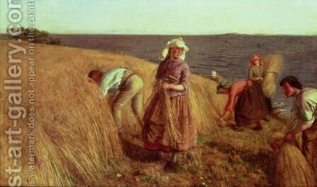 The Harvest by Hugh Cameron - Reproduction Oil Painting