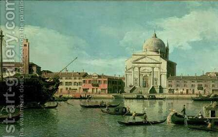 Il Redentore by (Giovanni Antonio Canal) Canaletto - Reproduction Oil Painting