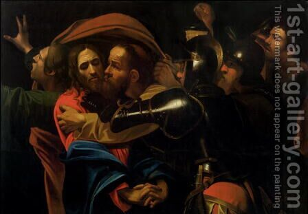 The Taking of Christ by (after) Michelangelo Merisi Da Caravaggio - Reproduction Oil Painting