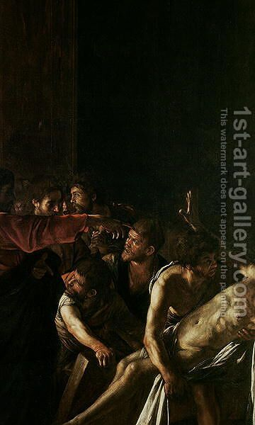 Resurrection of Lazarus 2 by Caravaggio - Reproduction Oil Painting