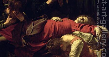 The Death of the Virgin, 1605-06 by Caravaggio - Reproduction Oil Painting