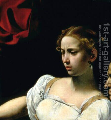 Judith and Holofernes, 1599 by Caravaggio - Reproduction Oil Painting