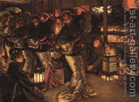 The Prodigal Son in Modern Life: In Foreign Climes by James Jacques Joseph Tissot - Reproduction Oil Painting