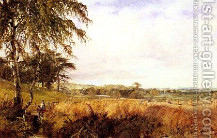 Harvest by Henry Thomas Dawson - Reproduction Oil Painting