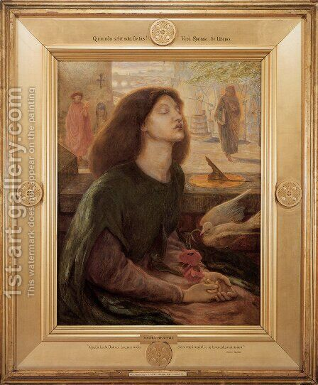 Beata Beatrix (Blessed Beatrice) by Dante Gabriel Rossetti - Reproduction Oil Painting
