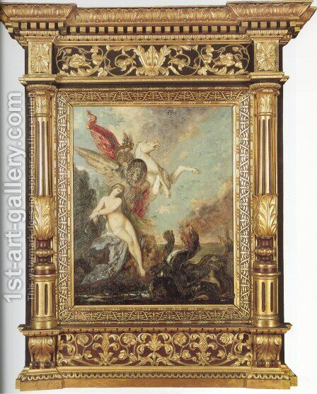 Andromeda by Gustave Moreau - Reproduction Oil Painting