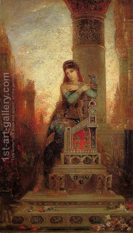 Desdemone by Gustave Moreau - Reproduction Oil Painting