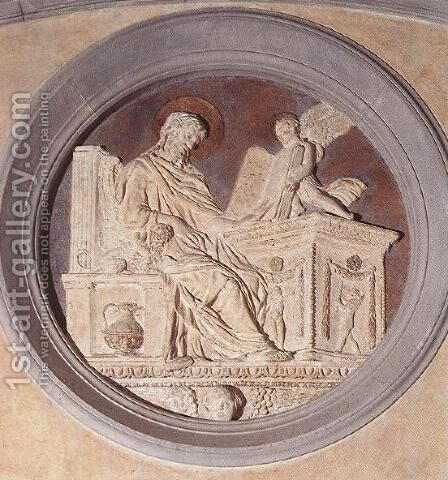 Evangelist Matthew by Donatello (Donato di Niccolo) - Reproduction Oil Painting