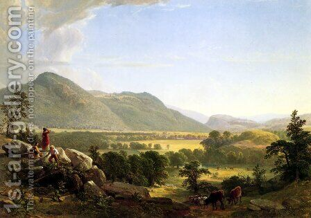 Dover Plain, Dutchess County, New York by Asher Brown Durand - Reproduction Oil Painting