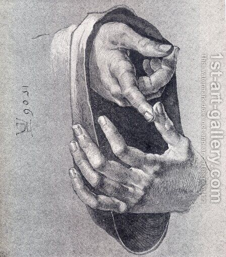 Boy's Hands by Albrecht Durer - Reproduction Oil Painting