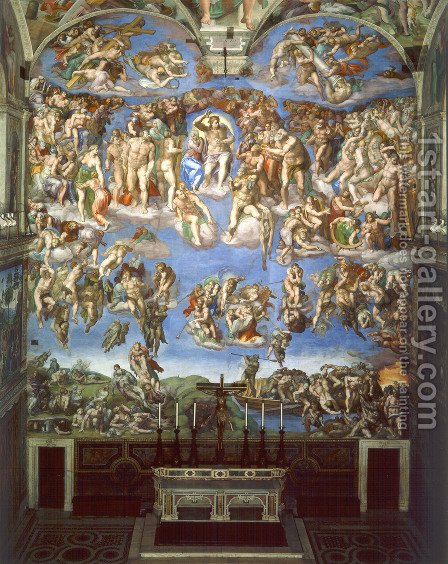 The Last Judgement by Michelangelo - Reproduction Oil Painting