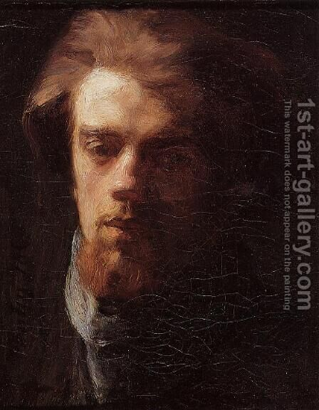 Self Portrait 3 by Ignace Henri Jean Fantin-Latour - Reproduction Oil Painting