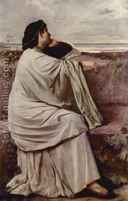 Iphigenia in Tauris by Anselm Friedrich Feuerbach - Reproduction Oil Painting