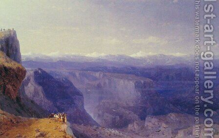 The Caucasus by Ivan Konstantinovich Aivazovsky - Reproduction Oil Painting
