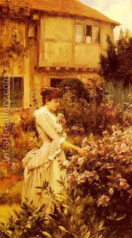 A Labour Of Love by Alfred Glendening - Reproduction Oil Painting