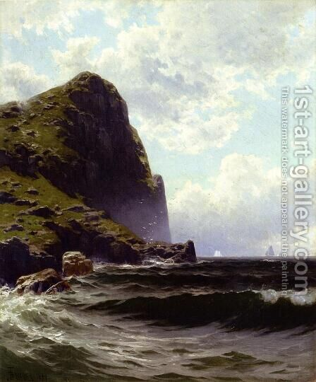 Brundith Head, Grand Manan by Alfred Thompson Bricher - Reproduction Oil Painting