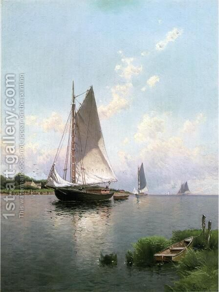 Blue Point, Long Island by Alfred Thompson Bricher - Reproduction Oil Painting