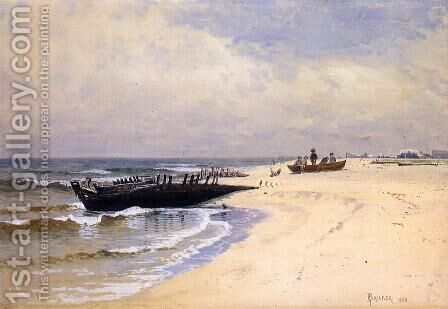 Low Tide by Alfred Thompson Bricher - Reproduction Oil Painting