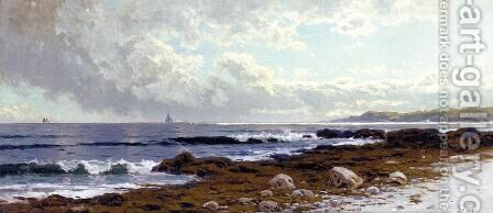Along the Coast by Alfred Thompson Bricher - Reproduction Oil Painting