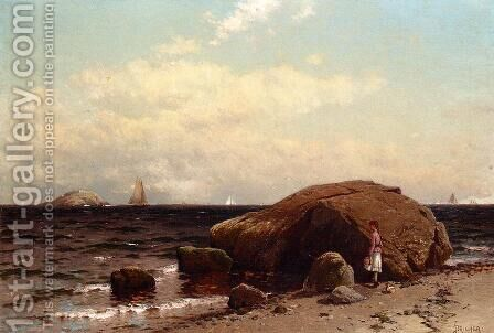 Looking out to Sea by Alfred Thompson Bricher - Reproduction Oil Painting