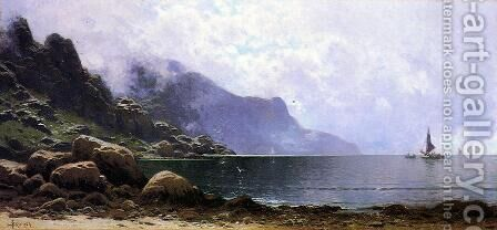 Mist Clearing, Grand Manan by Alfred Thompson Bricher - Reproduction Oil Painting