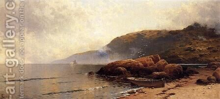 Summer Day at Grand Manan by Alfred Thompson Bricher - Reproduction Oil Painting