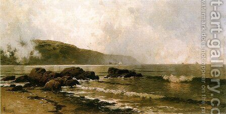 The Coast at Grand Manan by Alfred Thompson Bricher - Reproduction Oil Painting