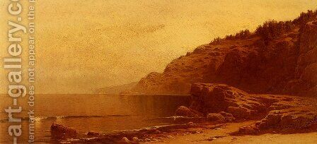 Coast Of Maine by Alfred Thompson Bricher - Reproduction Oil Painting
