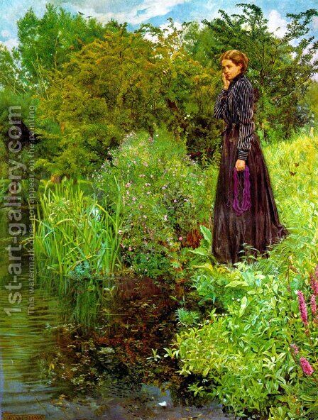 The Boer War by John Byam Liston Shaw - Reproduction Oil Painting