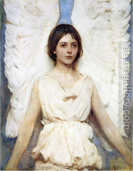Angel by Abbott Handerson Thayer - Reproduction Oil Painting