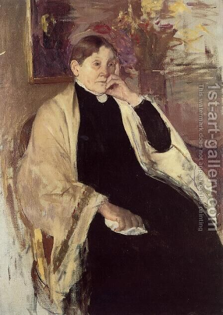 Mrs. Robert S. Cassatt (or Katherine Kelson Johnston Cassatt) by Mary Cassatt - Reproduction Oil Painting