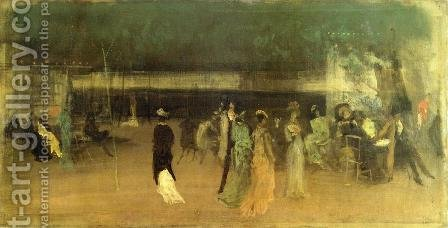 Cremorne Gardens, No. 2 by James Abbott McNeill Whistler - Reproduction Oil Painting