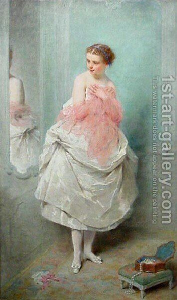 Avant le bal (Before the Ball) by Charles Chaplin - Reproduction Oil Painting