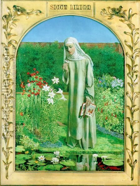 Convent Thoughts by Charles Allston Collins - Reproduction Oil Painting