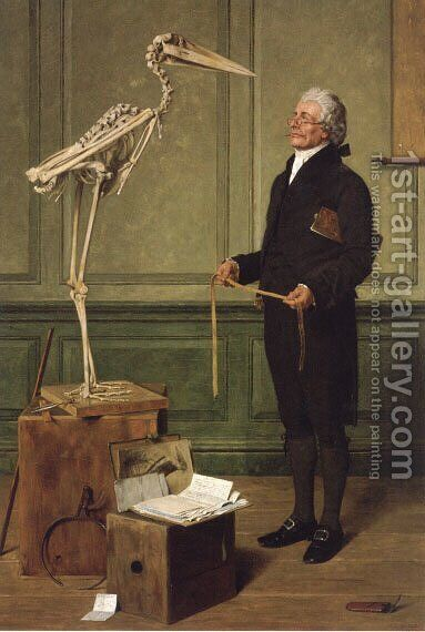 Science is Measurement by Henry Stacy Marks - Reproduction Oil Painting