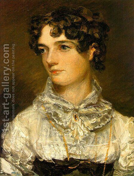 Maria Bicknell (or Mrs John Constable) by John Constable - Reproduction Oil Painting