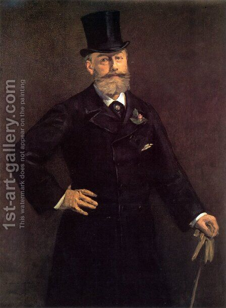 Portrait of Antonin Proust by Edouard Manet - Reproduction Oil Painting