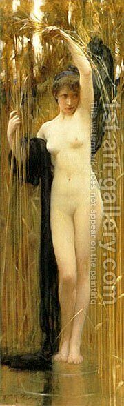 The Sryinx by Arthur Hacker - Reproduction Oil Painting