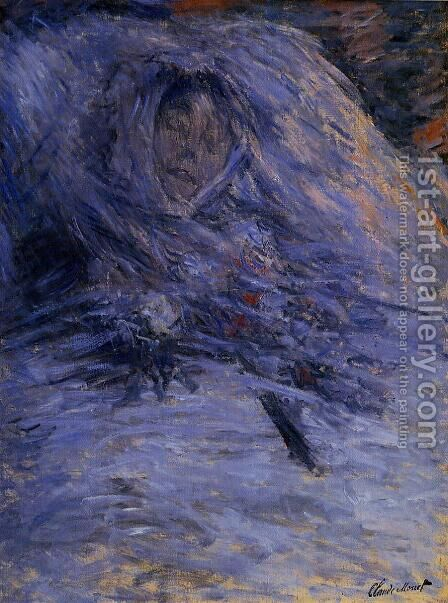 Camille Monet On Her Deathbed by Claude Oscar Monet - Reproduction Oil Painting