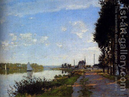 Argenteuil by Claude Oscar Monet - Reproduction Oil Painting