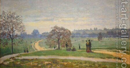 Hyde Park, London by Claude Oscar Monet - Reproduction Oil Painting