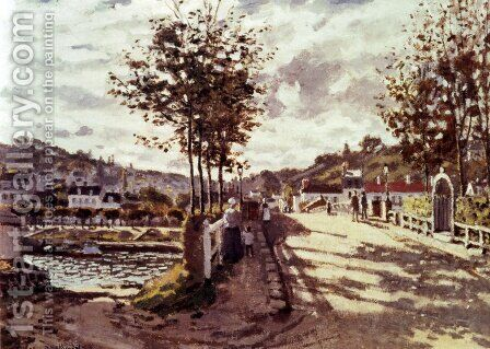 The Seine At Bougival 2 by Claude Oscar Monet - Reproduction Oil Painting