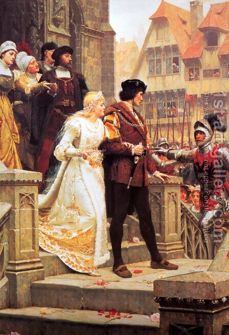 Call to Arms by Edmund Blair Blair Leighton - Reproduction Oil Painting