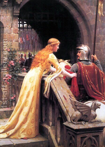 God Speed! by Edmund Blair Blair Leighton - Reproduction Oil Painting